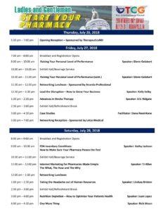 TCG Members Only Seminar 2019 @ Metropolitan at the 9